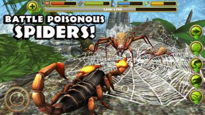 蝎子模拟器破解版无限血量无限经验